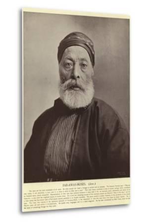 Far-Away-Moses, Jew--Metal Print
