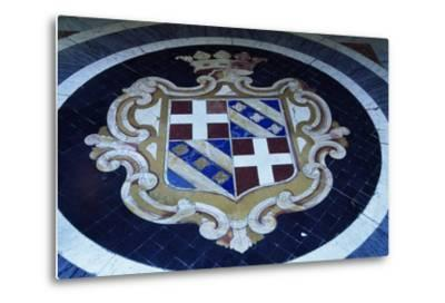 Crest in Grand Masters' Palace, Valletta--Metal Print