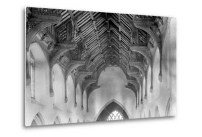 Vaulted Roof, St. Agnes Church, Cawston-Frederick Henry Evans-Metal Print