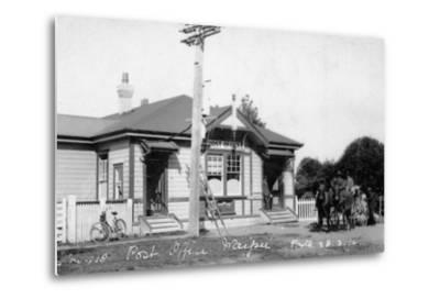 Waipu Post Office, 1910--Metal Print