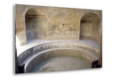 Forum Baths, Pompeii--Metal Print