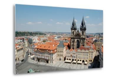 Church of Our Lady before Týn, Old Town Square, Prague, Czech Republic--Metal Print