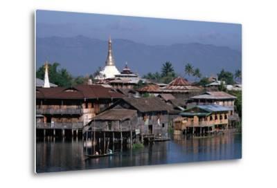 Inle Lake, Shan State, Myanmar--Metal Print