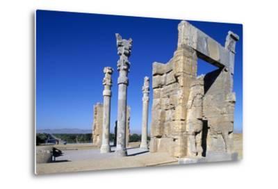 Gate of All Nations or of Xerxes, Persepolis--Metal Print