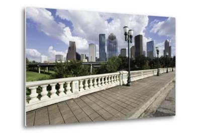 City Skyline, Houston, Texas, United States of America, North America-Gavin-Metal Print