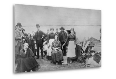 Pat Spellecy and Family--Metal Print