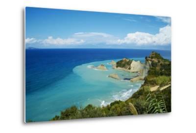 Drastis Cape Near Sidari Village. Corfu, Ionian Islands, Greek Islands, Greece, Europe-Tuul-Metal Print