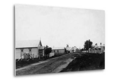 Waipu Congregational Church and Presbyterian Church--Metal Print