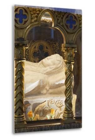 Sarcophagus of Saint Catherine of Siena--Metal Print