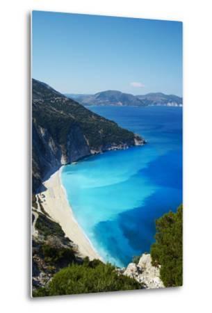 Myrtos Beach, Cephalonia, Ionian Islands, Greek Islands, Greece, Europe-Tuul-Metal Print