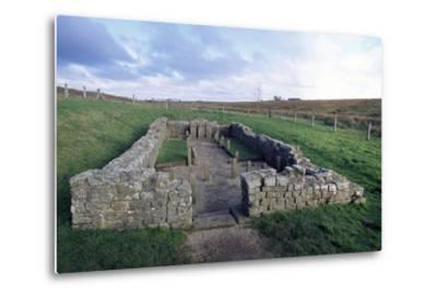 Temple of Mithras, Carrawburgh Roman Fort, Hadrian's Wall--Metal Print