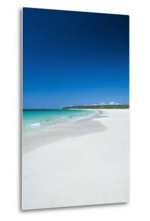 White Sand Beach and Turquoise Waters-Michael-Metal Print