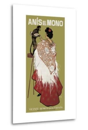 Anis Del Mono-Ramon Casas i Carbo-Metal Print