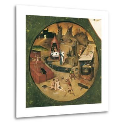 Garden of Earthly Delights-Hieronymus Van Aeken Bosch-Metal Print