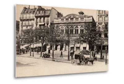 Théâtre Du Gymnase, Boulevard Bonne-Nouvelle, Paris, 1890--Metal Print