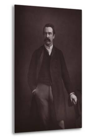William Martin Conway, English Art Critic, Politician and Mountaineer--Metal Print