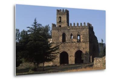 Imperial Enclosure and Gate of Yohannes I, Gondar--Metal Print
