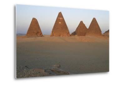 Pyramids of Black Pharaohs, Gebel Barkal and Sites of Napatan Region--Metal Print