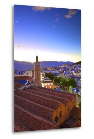 Chefchaouen, Morocco, North Africa, Africa-Neil-Metal Print
