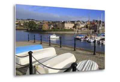 Yacht Marina, Kinsale Town, County Cork, Munster, Republic of Ireland, Europe- Richard-Metal Print