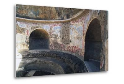 Frigidarium Based on Circular Plan, Forum Baths, Pompeii--Metal Print