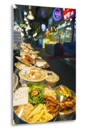 Nandaemun Food Market, Seoul, South Korea, Asia-Christian-Metal Print