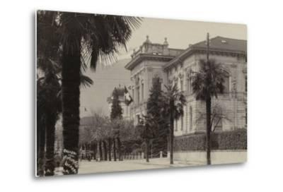 Conference Palace Where the Locarno Treaty Was Signed in 1925--Metal Print