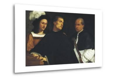 Interrupted Concert-Titian (Tiziano Vecelli)-Metal Print