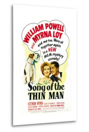 Song of the Thin Man--Metal Print