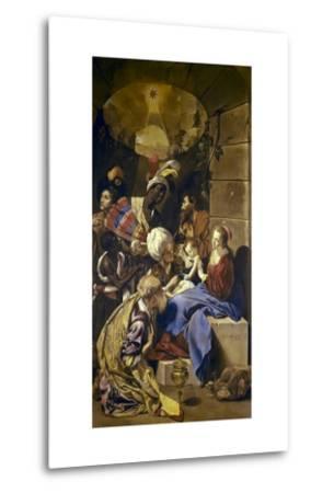 Adoration of the Magi-Juan Bautista Maino-Metal Print