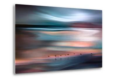 Migrations - Blue Sky-Ursula Abresch-Metal Print