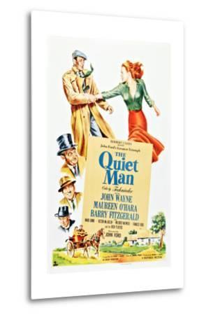 The Quiet Man--Metal Print