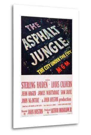 The Asphalt Jungle--Metal Print