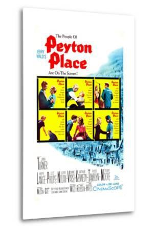 Peyton Place--Metal Print
