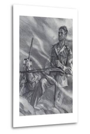 Spanish Civil War-Carlos Saenz de Tejada-Metal Print
