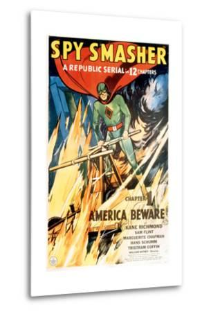 SPY SMASHER, Kane Richmond in 'Chapter 1: America Beware', 1942--Metal Print