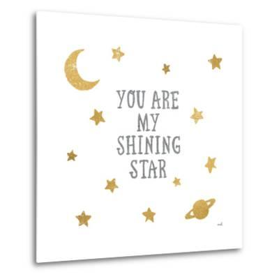 Shining Star-Moira Hershey-Metal Print
