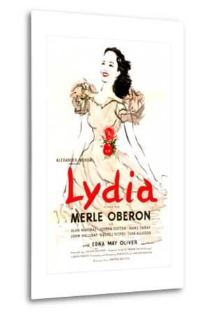 Lydia--Metal Print