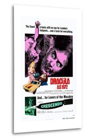 Dracula A.D., 1972--Metal Print