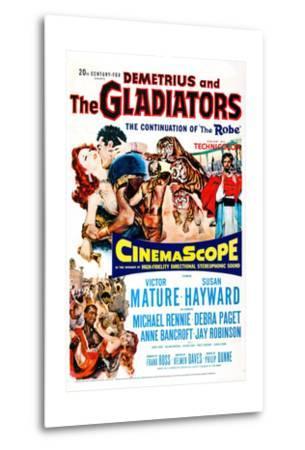Demetrius and the Gladiators--Metal Print