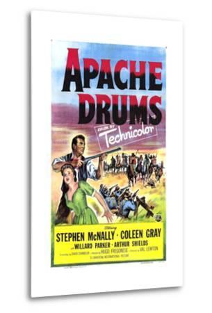 Apache Drums--Metal Print