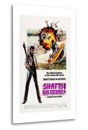 Shaft's Big Score!--Metal Print