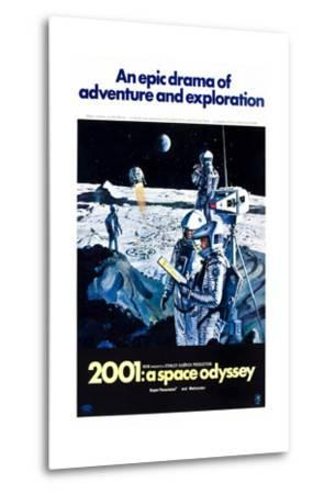 2001: A Space Odyssey (aka Two Thousand and One: a Space Odyssey)--Metal Print