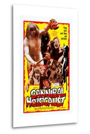 Cannibal Holocaust--Metal Print