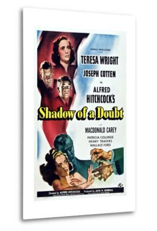 Shadow of a Doubt--Metal Print