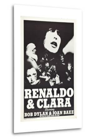 Renaldo and Clara--Metal Print