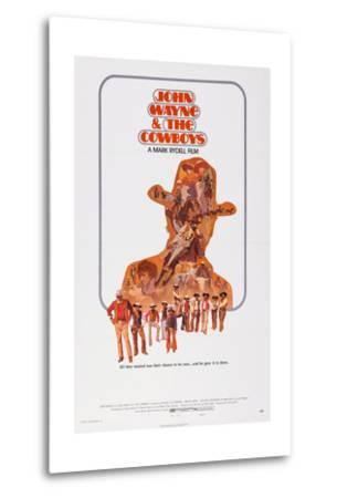The Cowboys--Metal Print