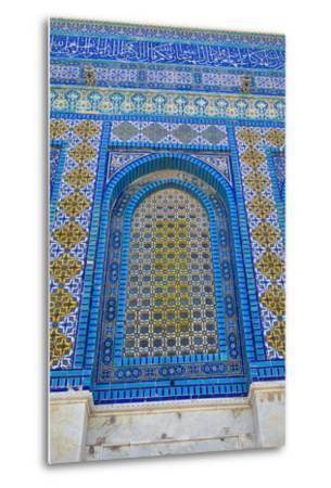 The Dome of the Rock, East Jerusalem--Metal Print