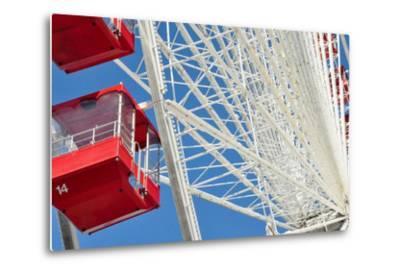 The Ferris Wheel at Navy Pier--Metal Print
