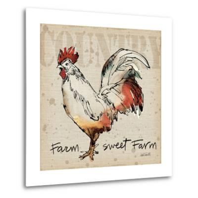 Farm Life V-Anne Tavoletti-Metal Print